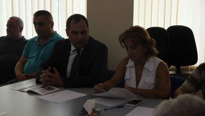 Հանդիպում Տավուշի մարզի փաստաբանների հետ